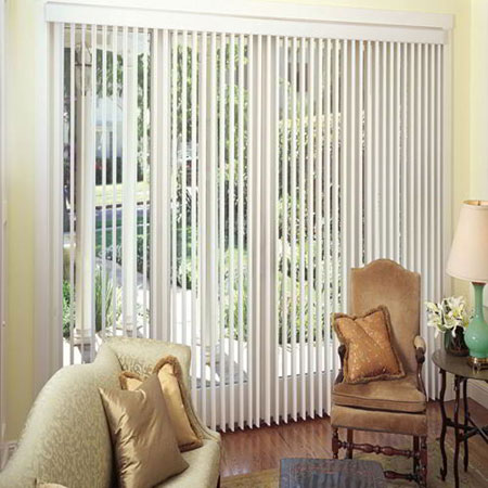 Vertical Blinds Or Louver Drape Blinds Easi Blind